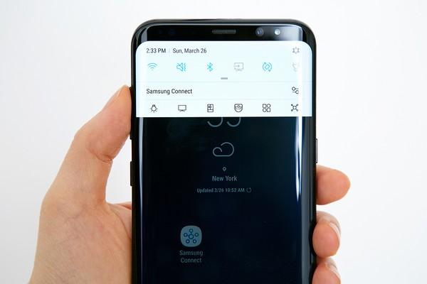 take screenshot on Galaxy S8 & S8 Plus