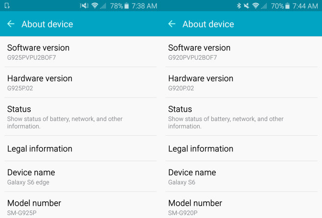 change Android device model number