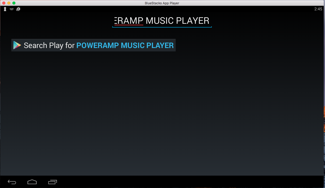 Poweramp for PC Windows