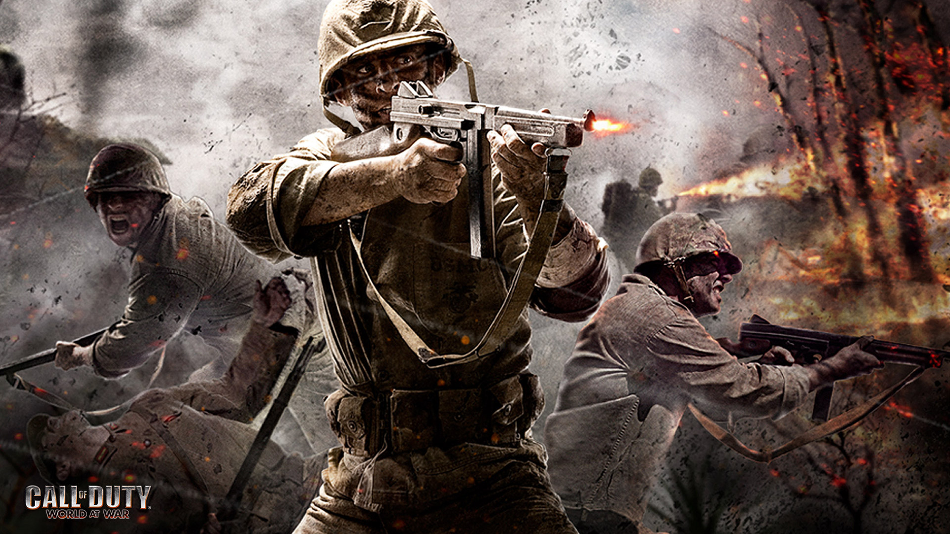 Call of Duty WWII HD Wallpapers - Call