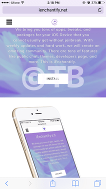 Install iEnchantify Cydia Alternative On iOS 10 Without Jailbreak