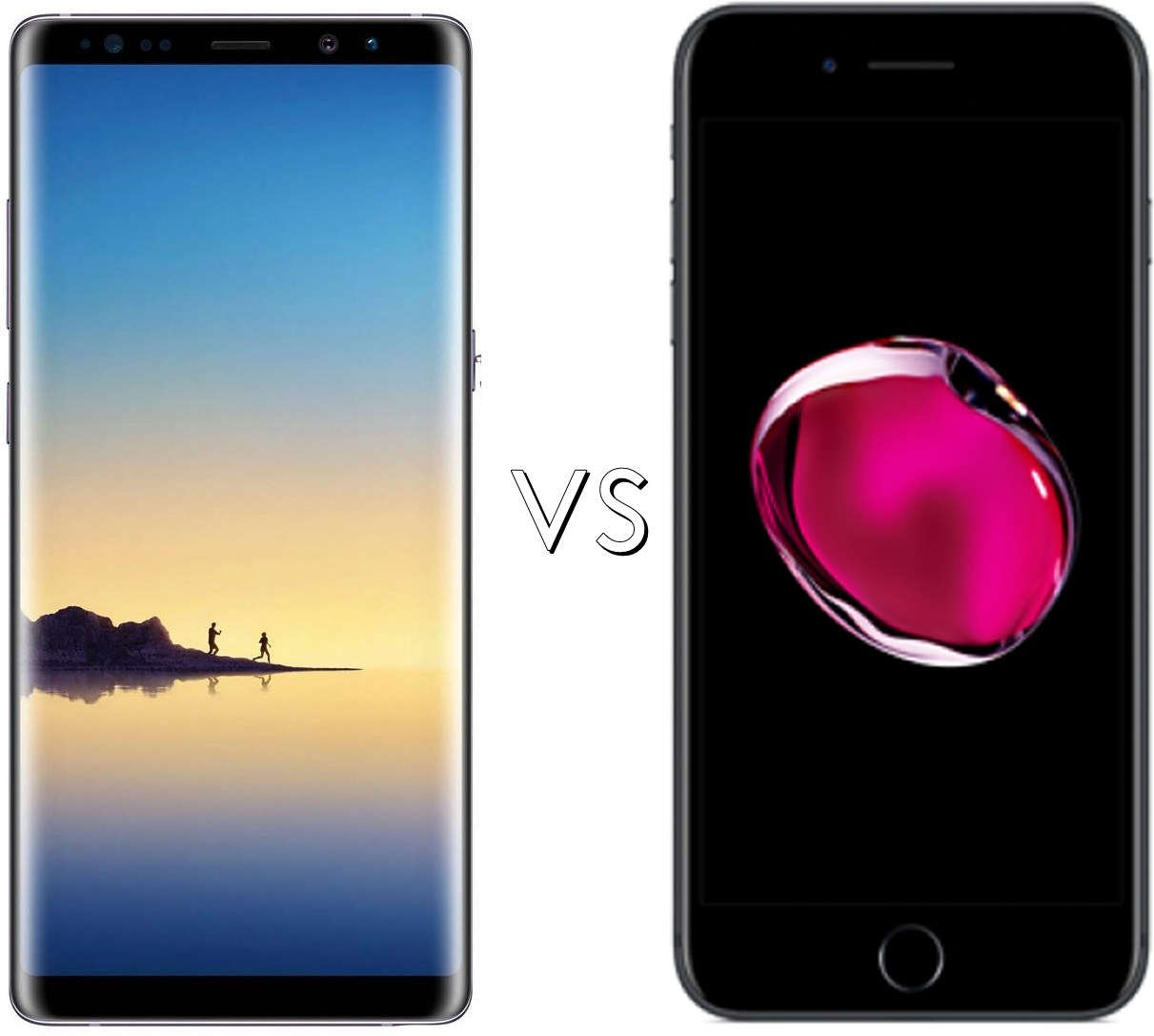 Specs Comparison Samsung Galaxy Note 8 Vs Apple IPhone 7 Plus