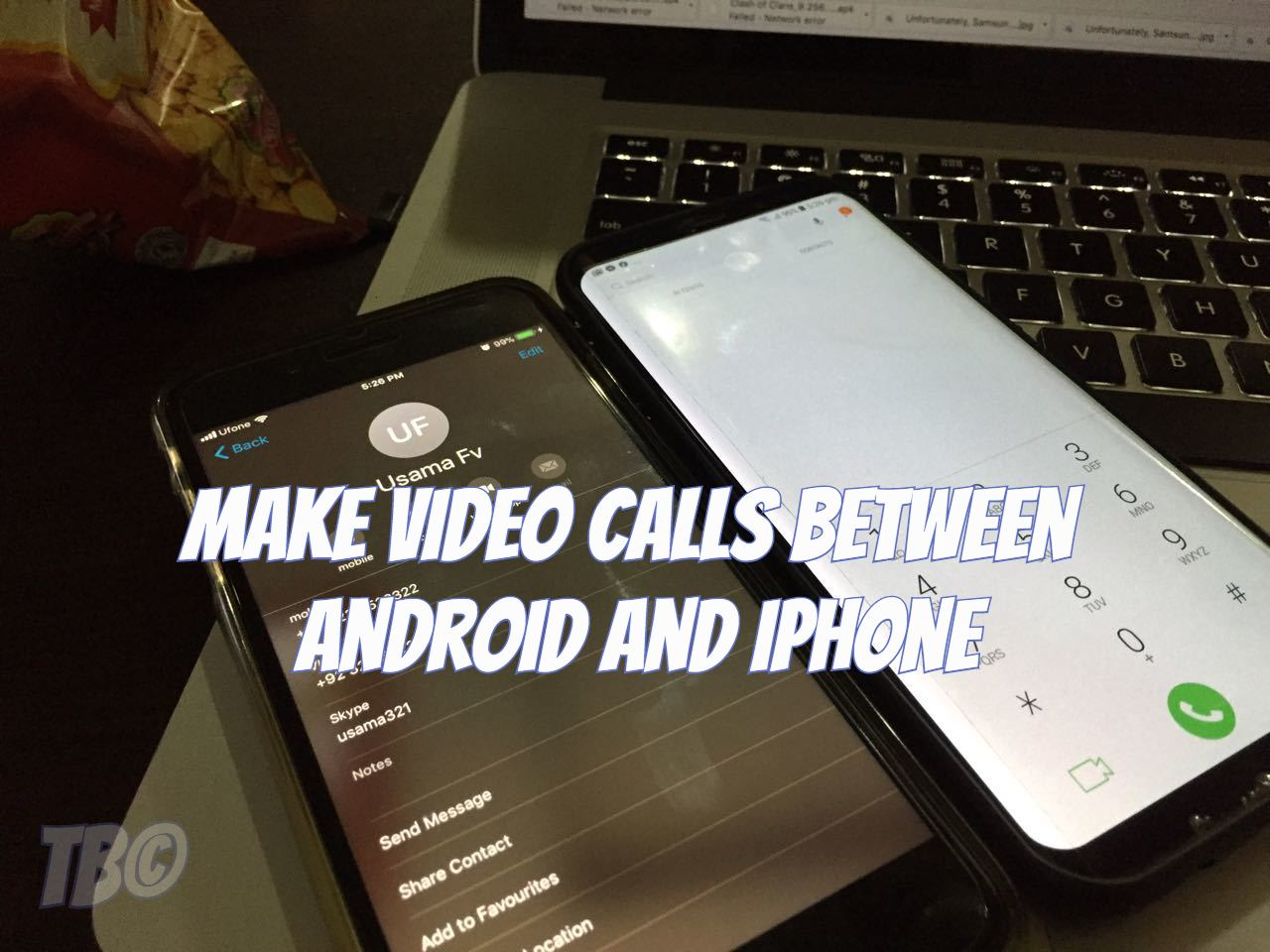 how to make calls from ipad to android