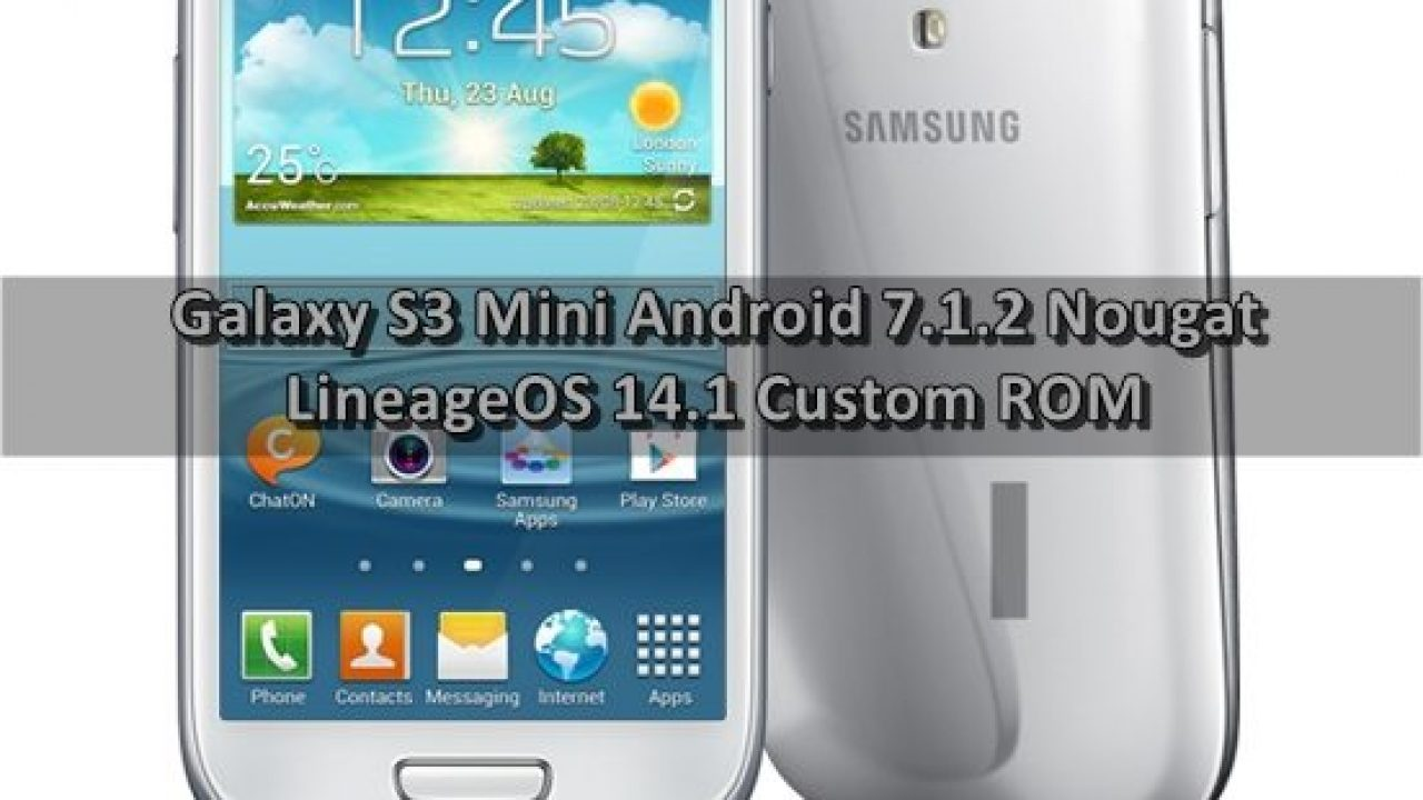 GALAXY I8190 S3 LINEAGE TÉLÉCHARGER OS MINI