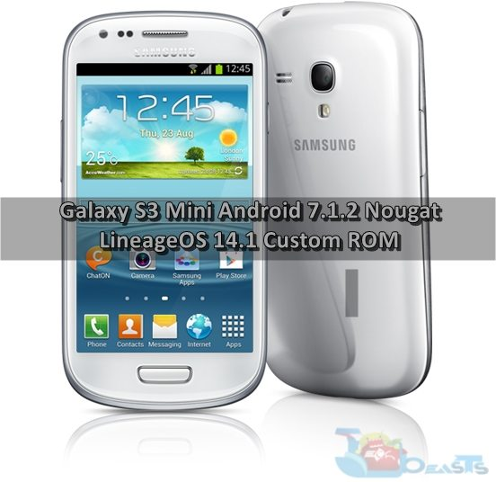 OS S3 MINI LINEAGE TÉLÉCHARGER I8190 GALAXY