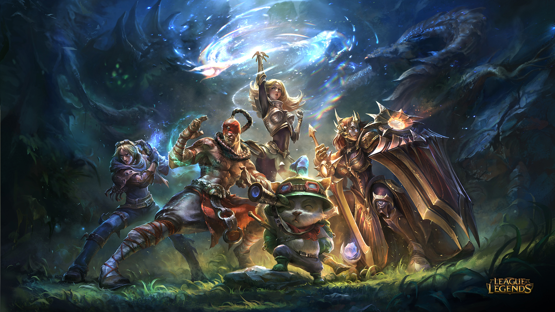 league of legends wallpaper