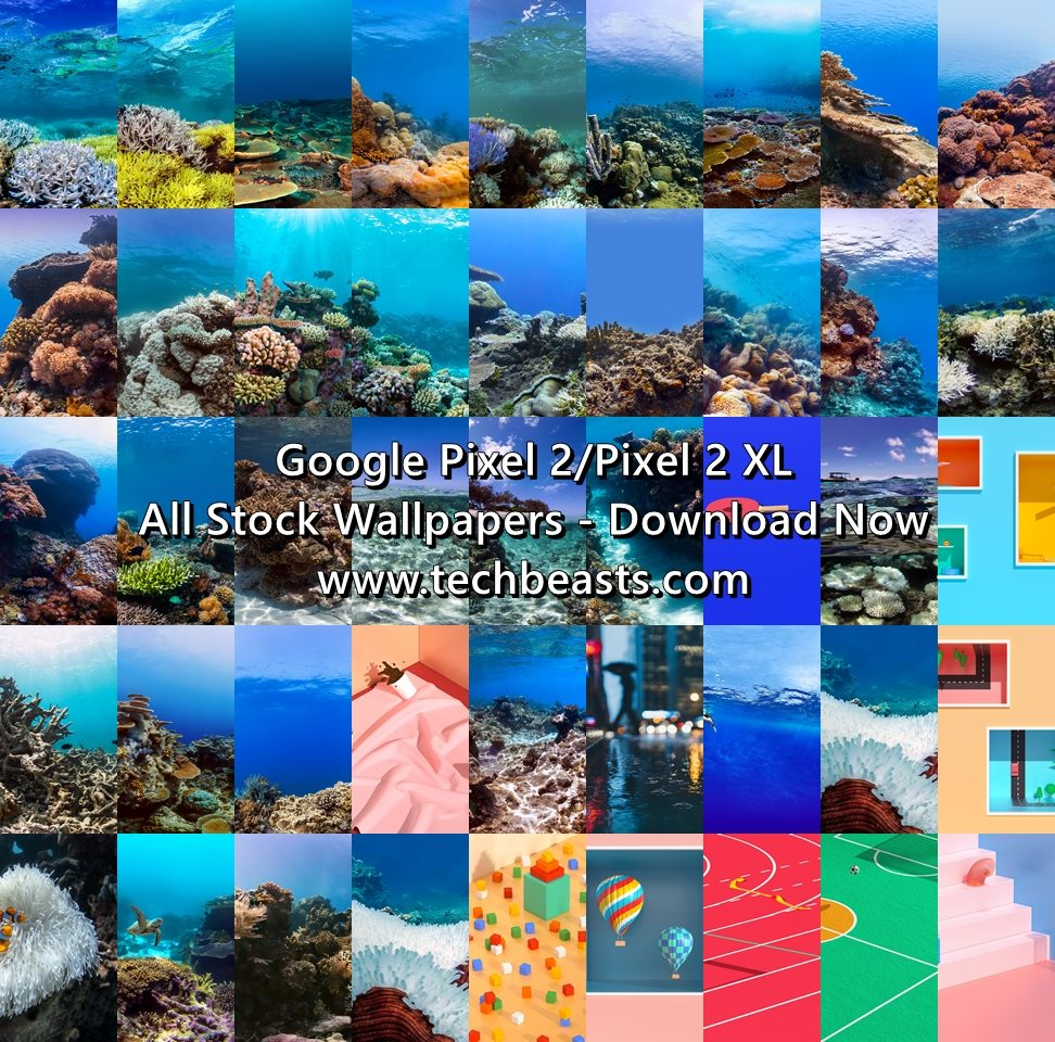 Download Official Google Pixel 2/XL Stock Wallpapers