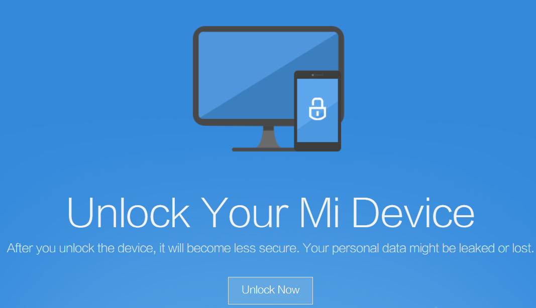 Unlock Xiaomi Mi Bootloader