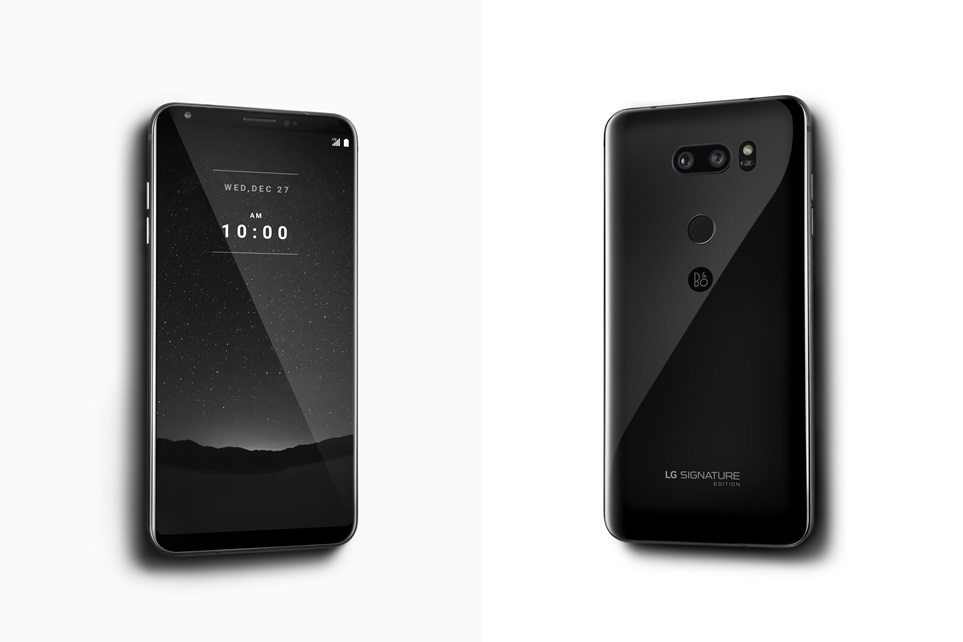 LG V30 Signature Edition will make you forget all about premium phones and it comes running Android Oreo