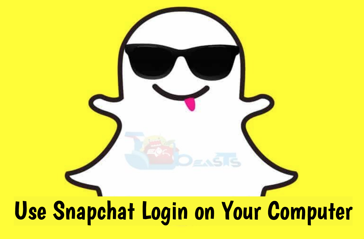 Use Snapchat Login on Your Computer