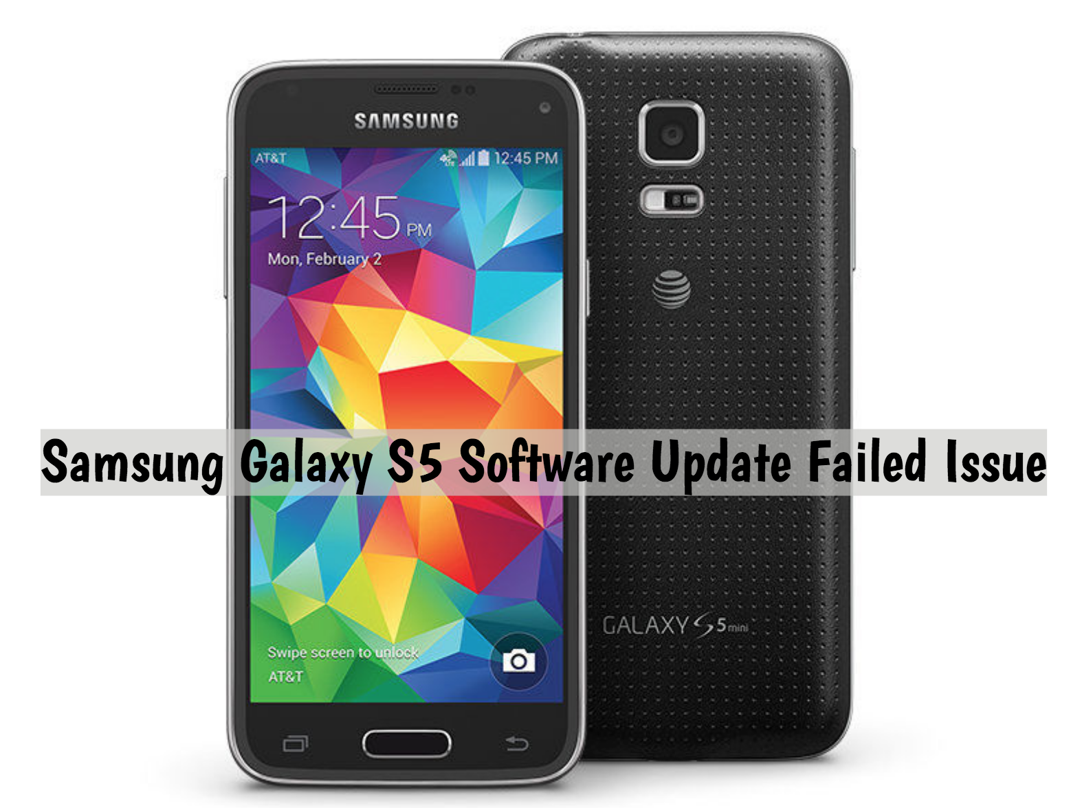 samsung galaxy s5 black screen