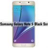 Galaxy Note 5 Black Screen