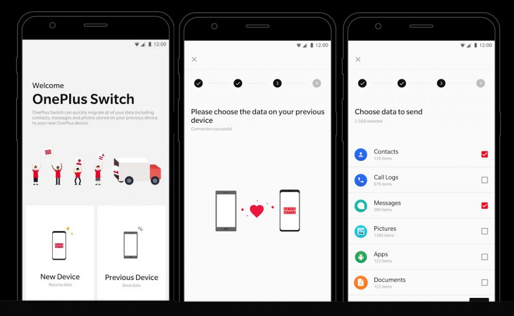 How to transfer data from your old OnePlus phone to new one