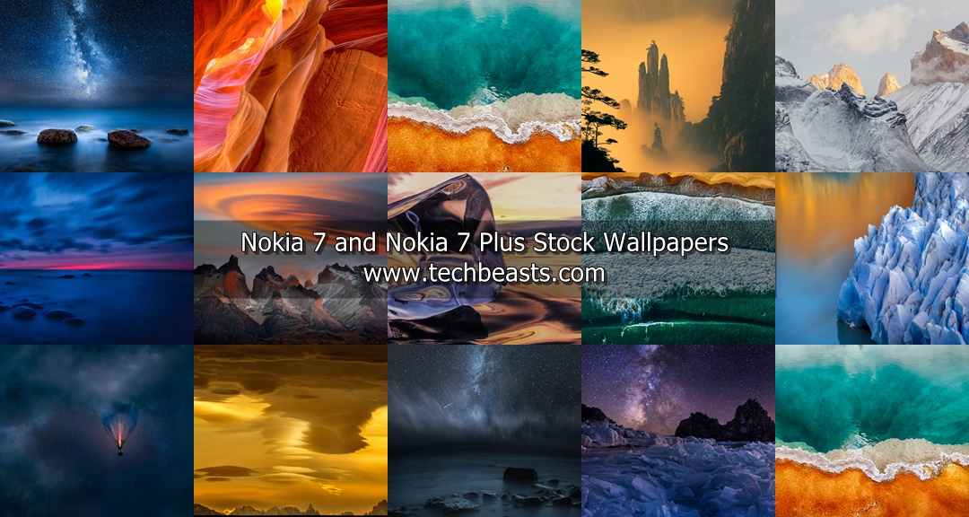 Download Nokia 7 & 7 Plus Stock Wallpapers