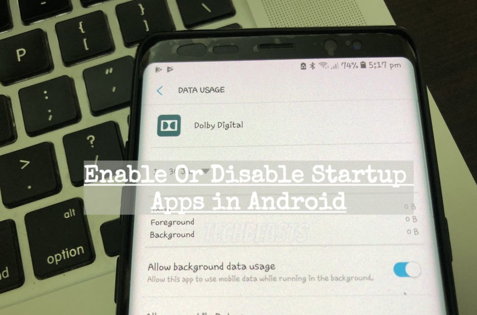 Enable Or Disable Startup Apps