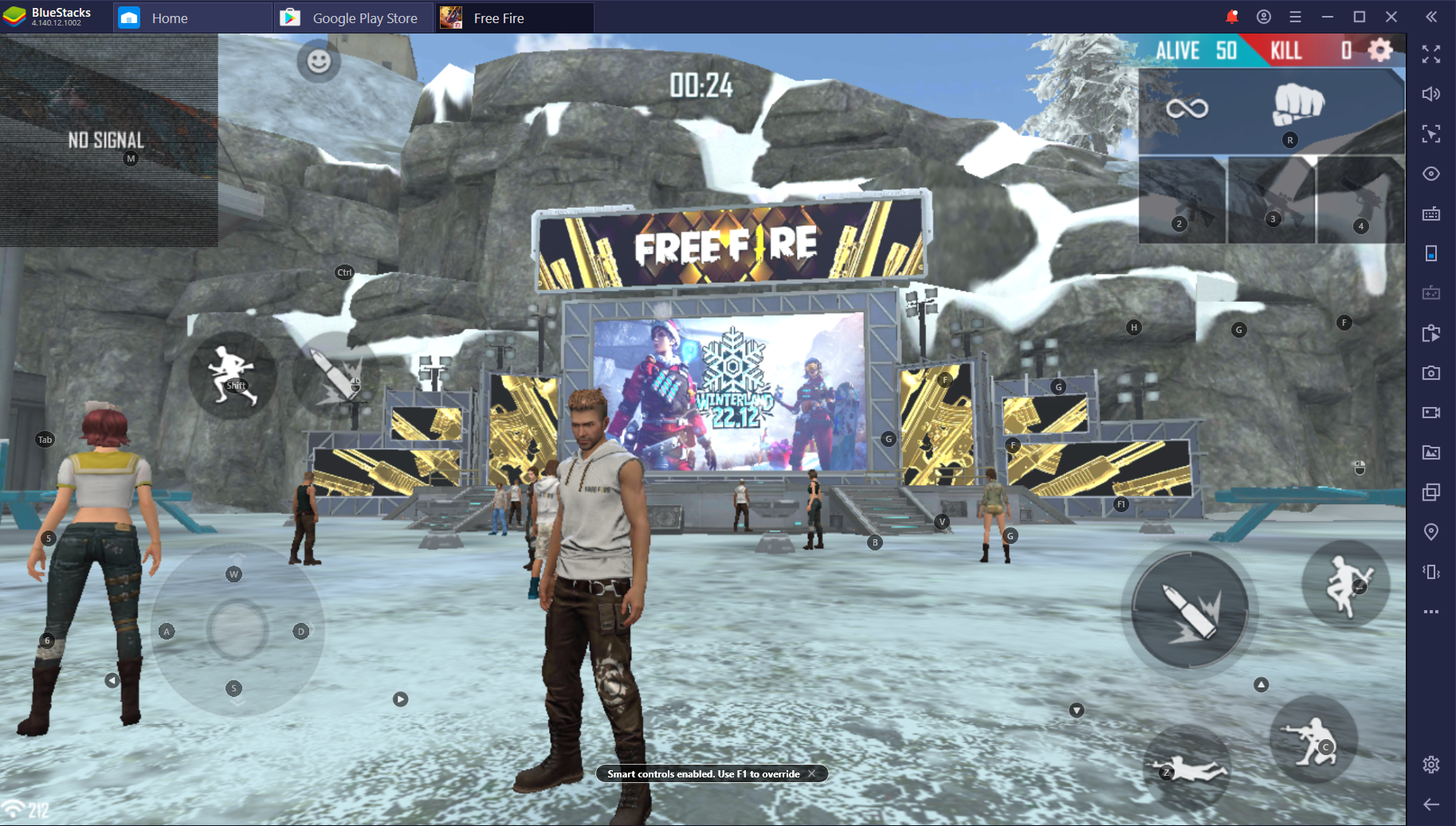 Free Fire Winterlands for PC