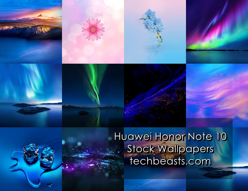 Honor Note 10 Stock Wallpapers
