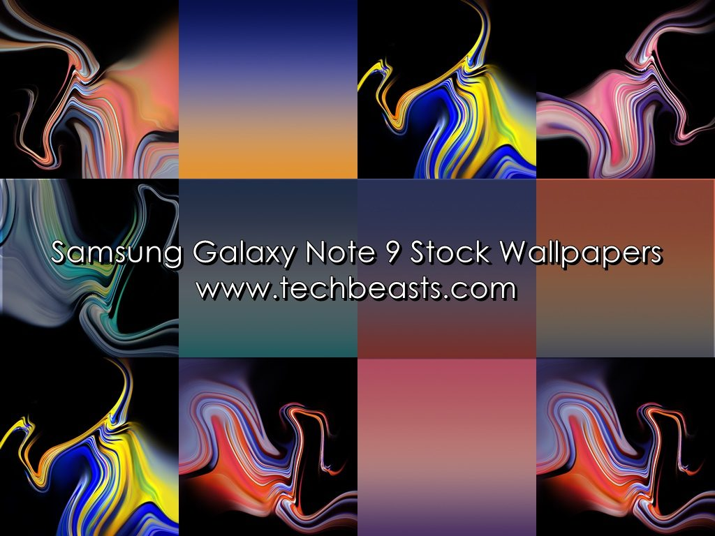 Download Samsung Galaxy Note 9 Stock Wallpapers Techbeasts