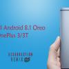 Resurrection Remix ROM on OnePlus 3/3T