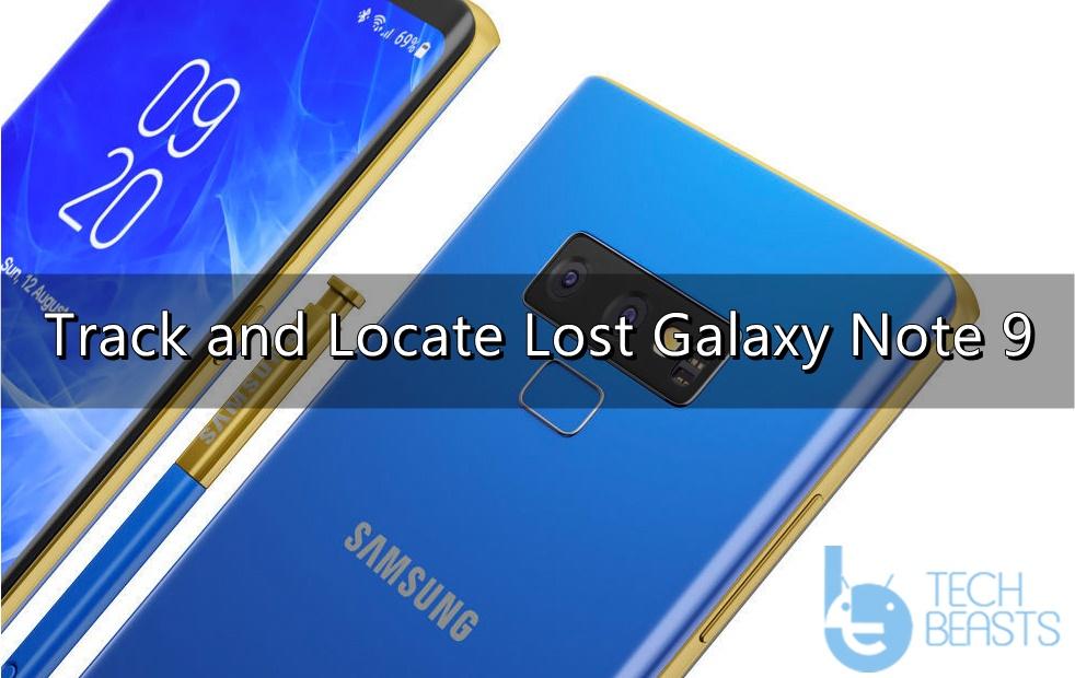 Locate Lost Galaxy Note 9