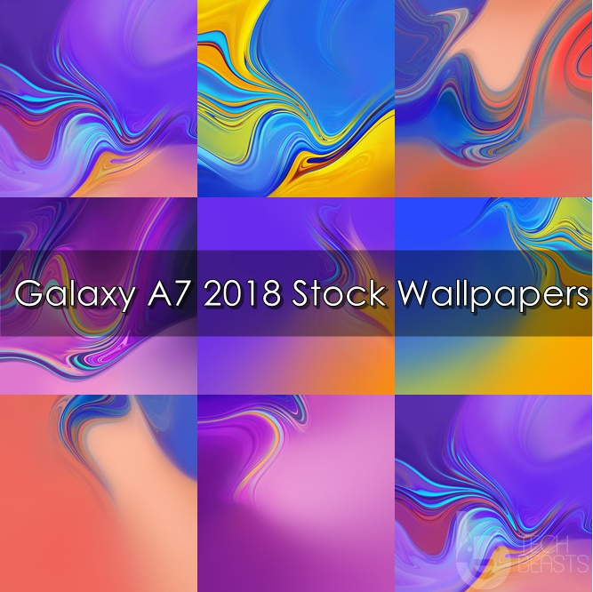 Download Galaxy A7 2018 Stock Wallpapers Techbeasts