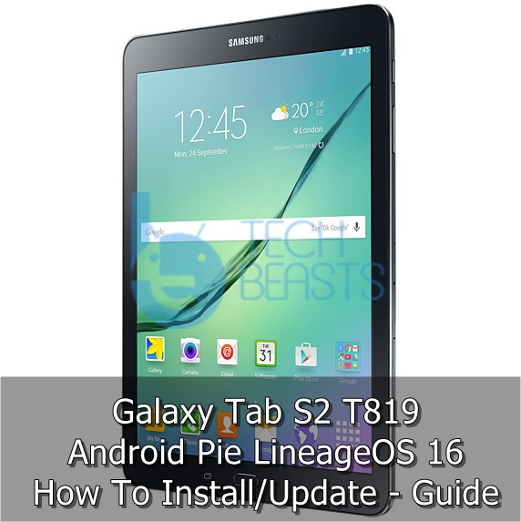 Download Android Pie on Galaxy Tab S2