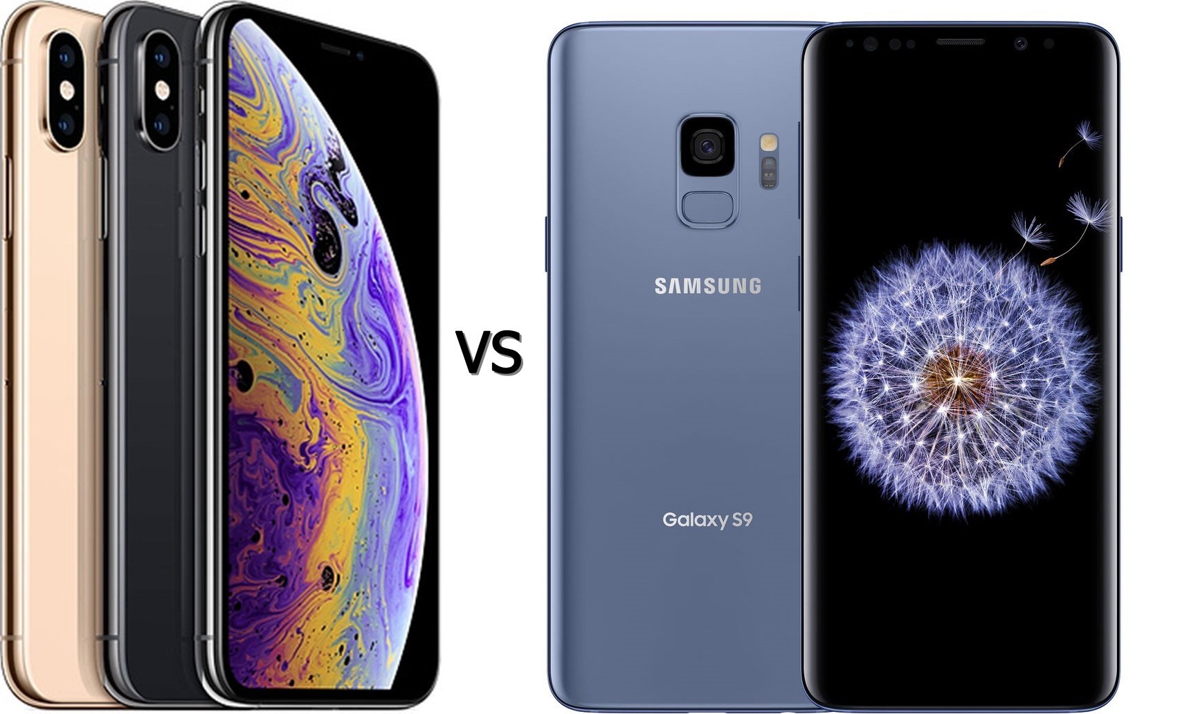 iPhone Xs vs Galaxy S9