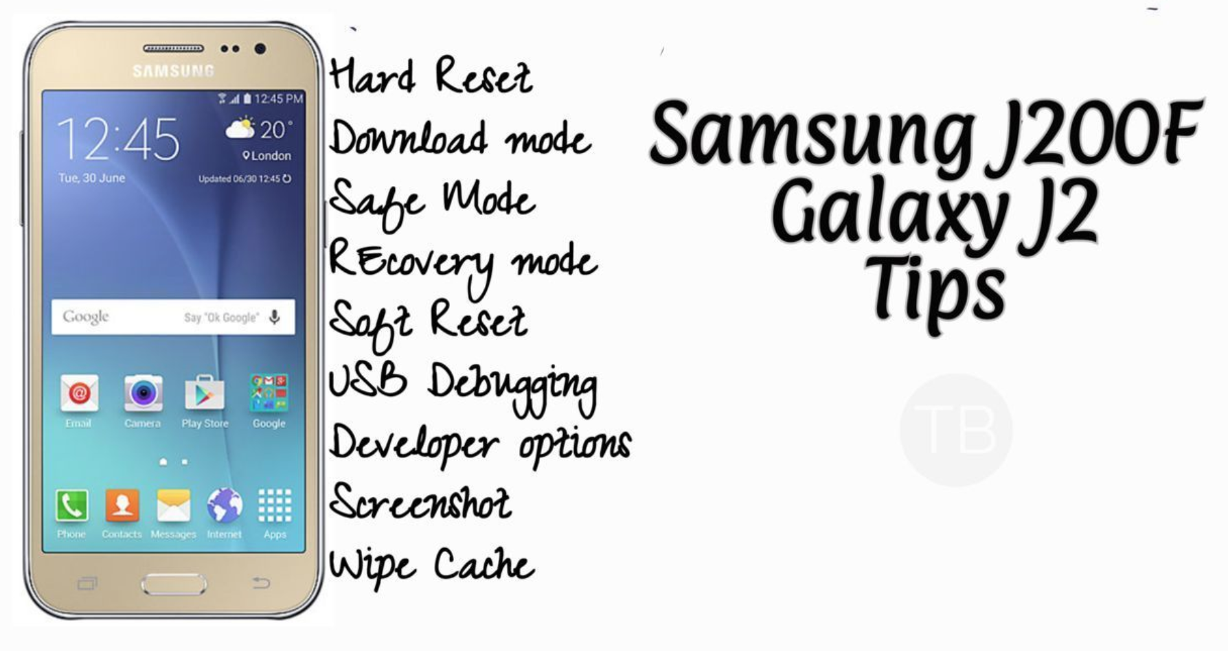 Samsung J2 Wallpaper Images: Samsung J200F Galaxy J2 Tips & Tricks: Hard Reset