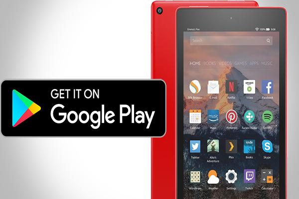 Google Play Store Fire Hd