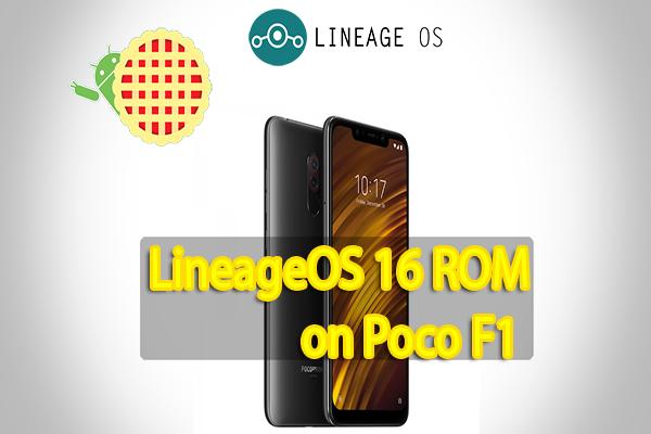 LineageOS 16 ROM on Xiaomi Poco F1