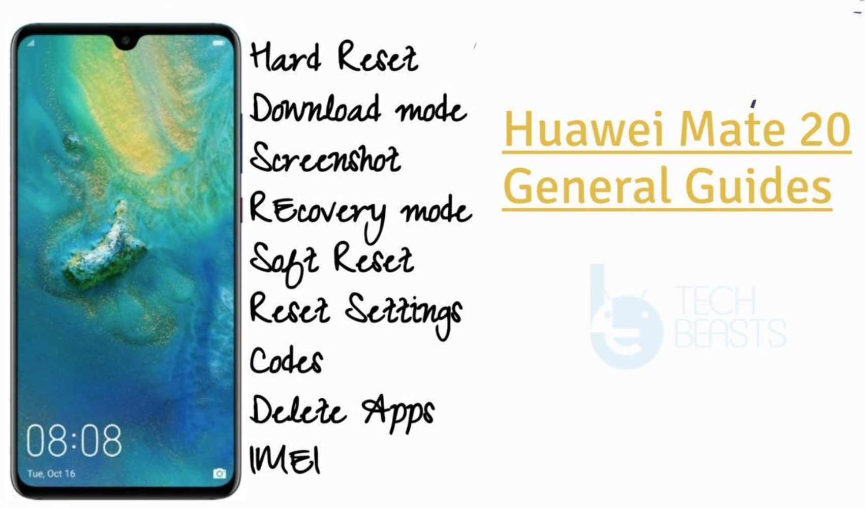 Huawei Mate 20 Guides