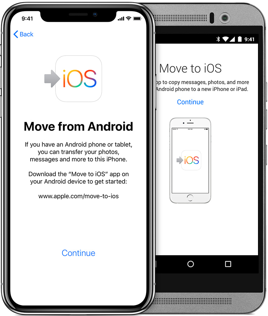 Move to iOS could not communicate with the device