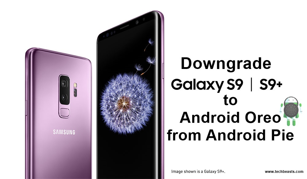 Downgrade Galaxy S9/S9 Plus to Android Oreo from Android Pie