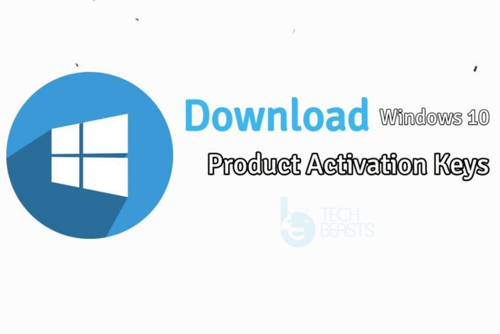Windows 10 Product Activation Keys