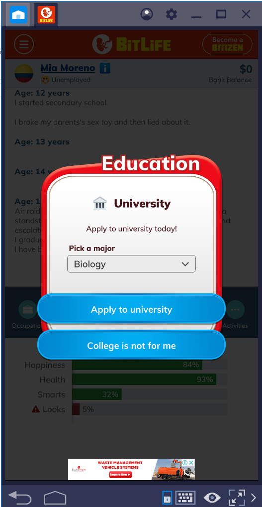 BitLife for PC