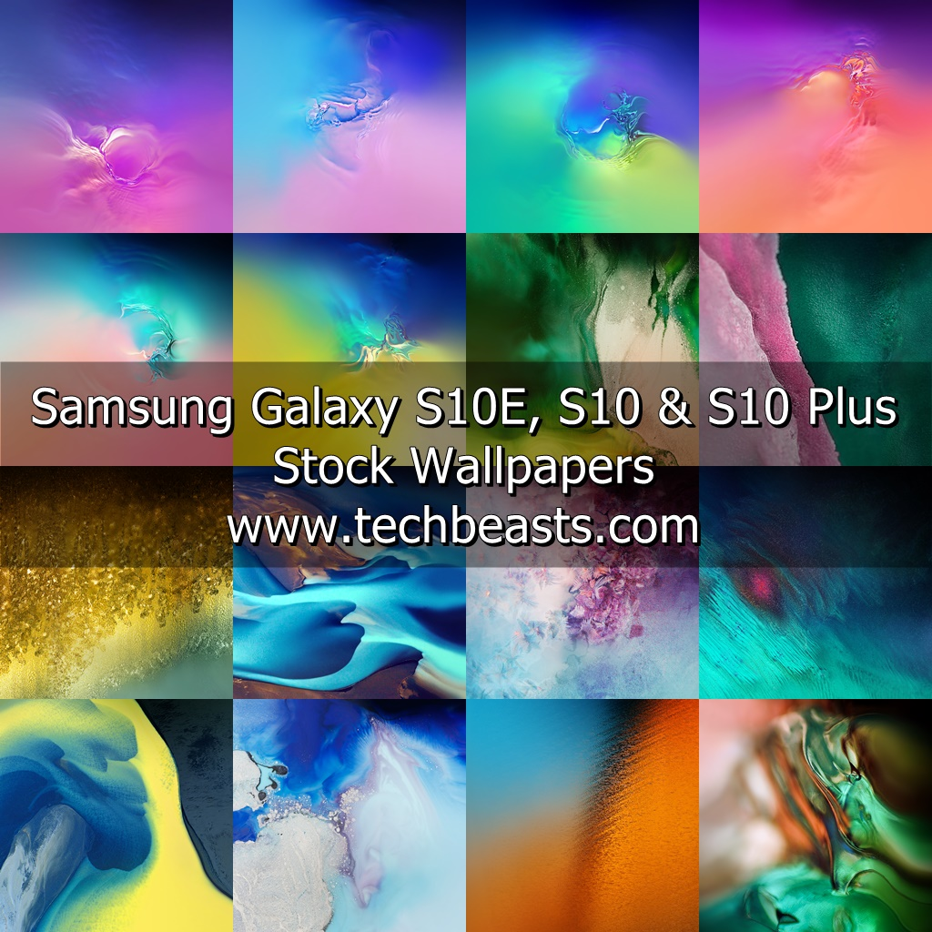 Samsung Galaxy S10 Stock Wallpapers