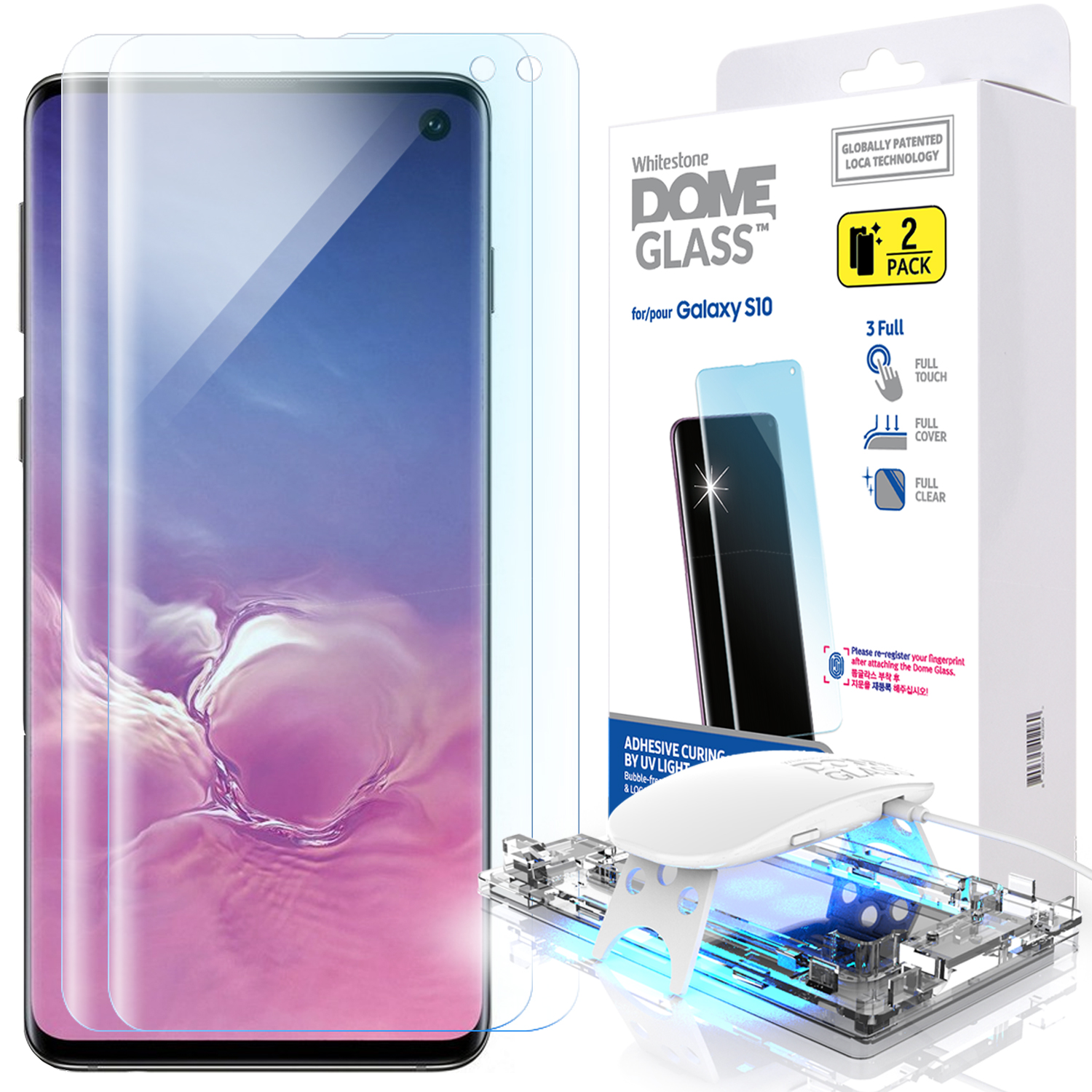 Best Screen Protector for Galaxy S10 and S10 Plus