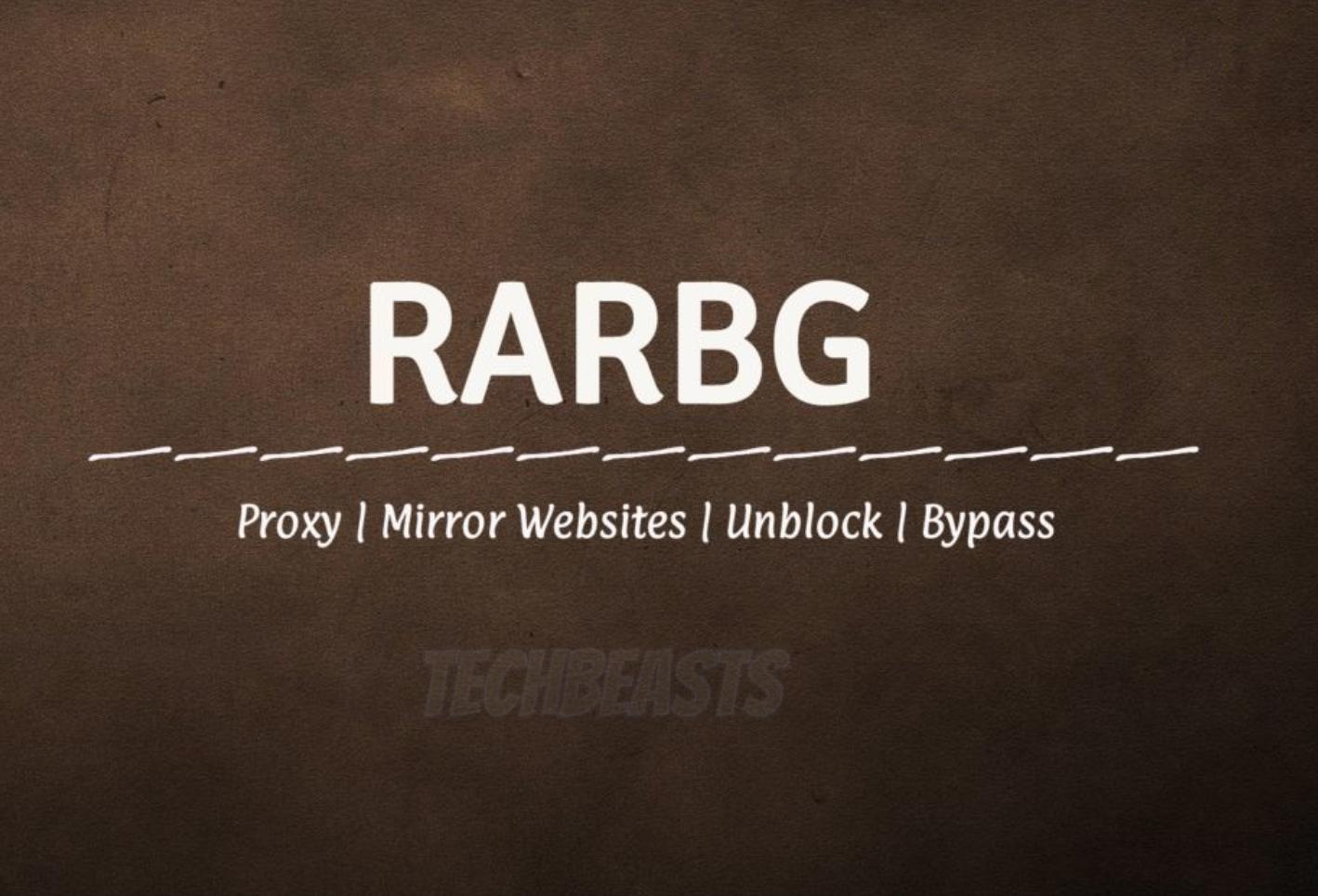 RARBG unblock
