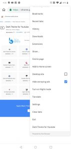 Google Chrome Extensions on Android