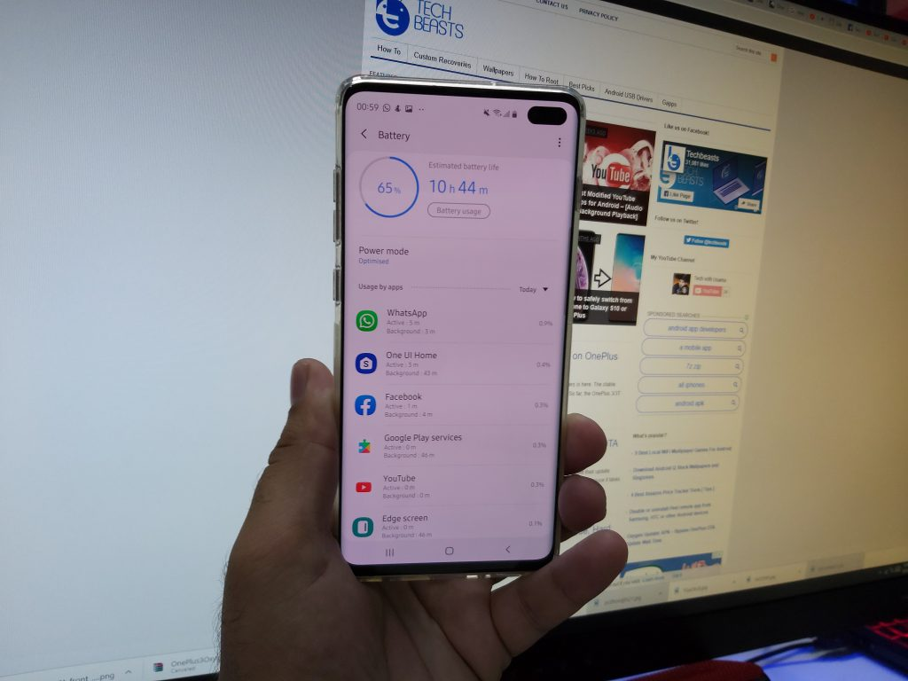 Galaxy S10 Plus Battery Drain Problems