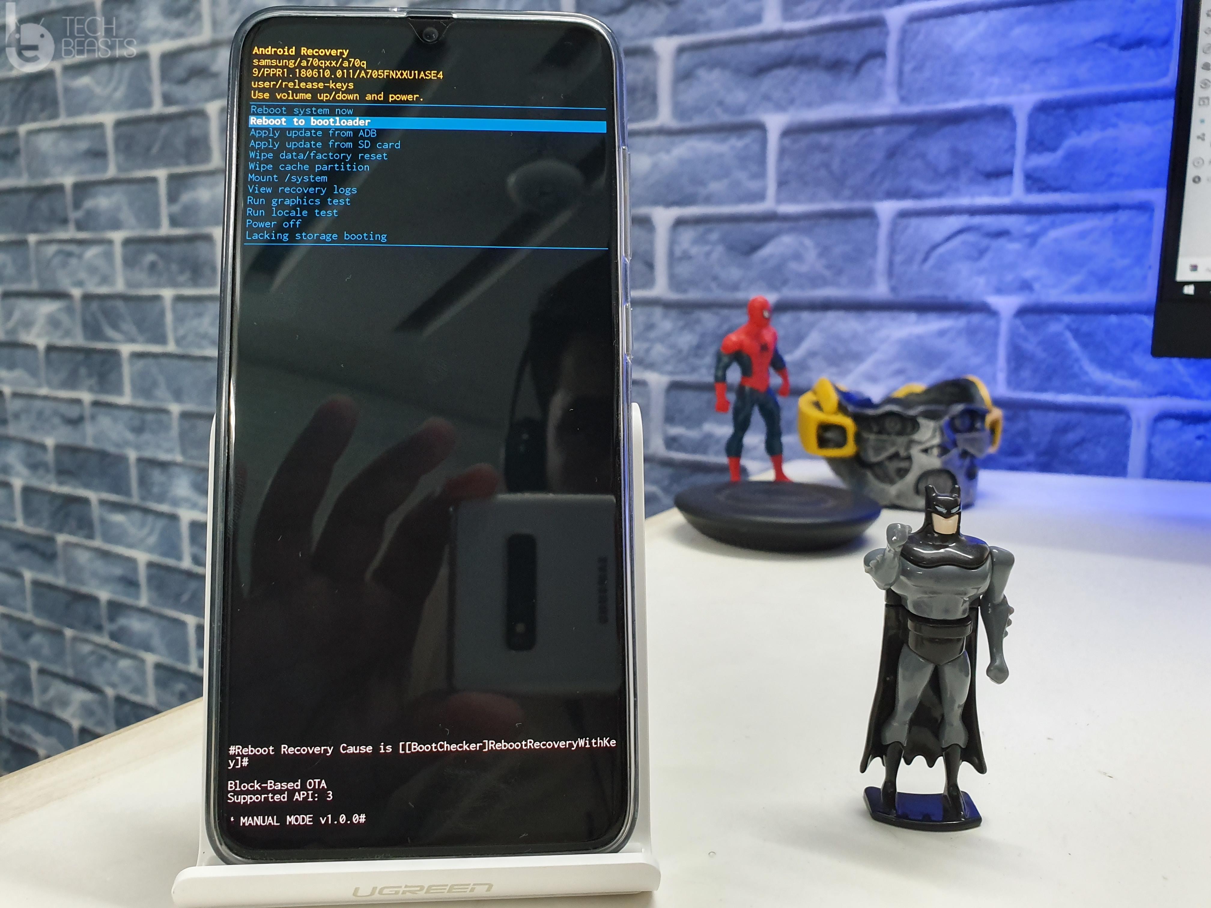 Galaxy A70 Recovery Mode
