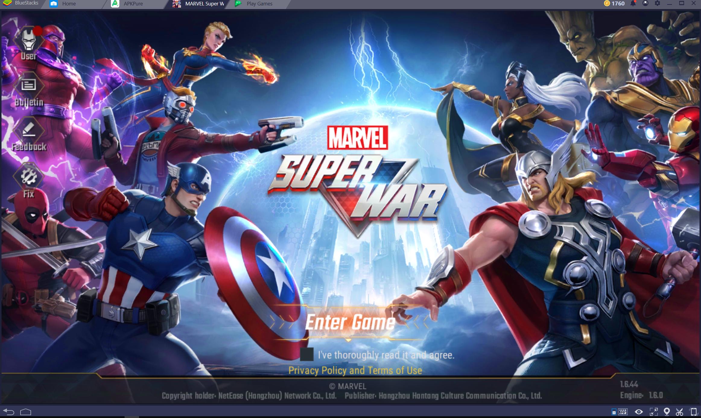 Marvel Super War for PC