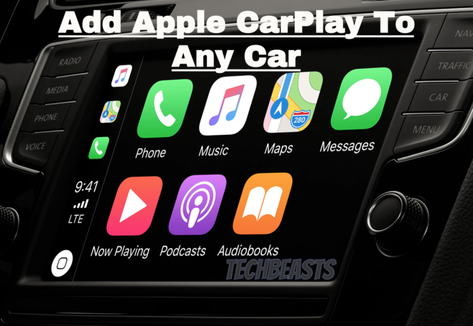 Apple CarPlay To Any Car