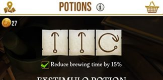 quickly brew potions harry potter wizards unite