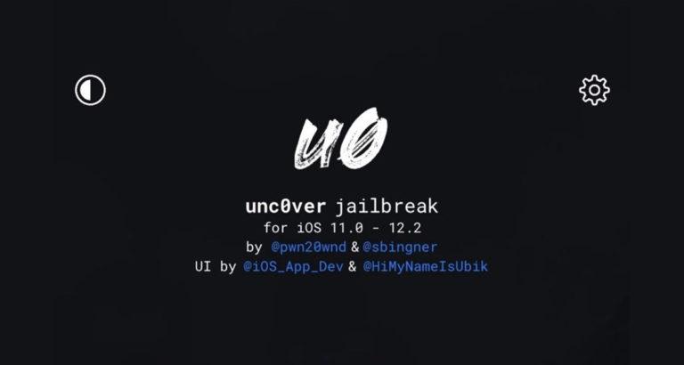 Jailbreak ios 12.2 unc0ver 3.3.0