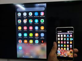 screen mirroring on Galaxy Note 10