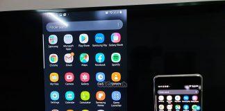 screen mirroring on Galaxy Note 10