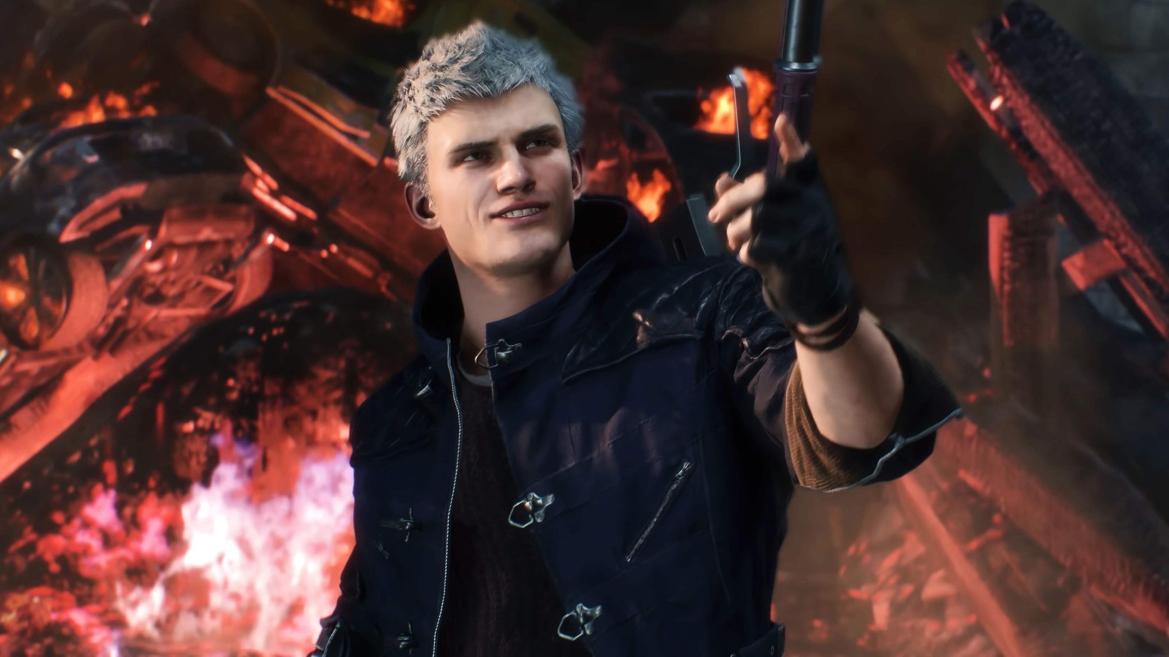 Devil May Cry 5 4k Hd Wallpapers Techbeasts