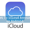 iCloud account on Android