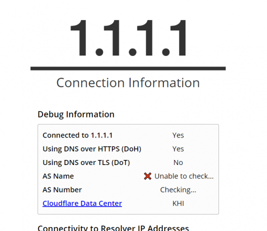 enable DNS-over-https in Google Chrome